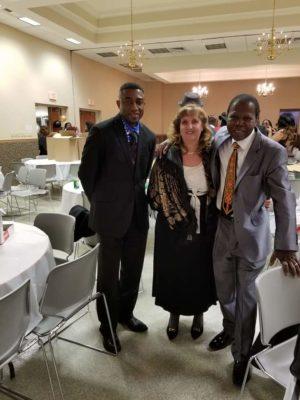 Andy Kalala, Zekeh Gbotokuma & Wife.2