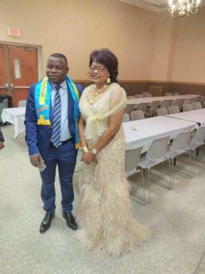 Fabien Kusuanika & Liliane Tshibangu