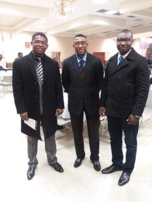 Fabrice Afata, Andy Kalala & Dominique Diomi