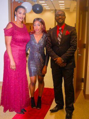 Fatouma Pombo, Jessica Kalala & Augustin Pombo