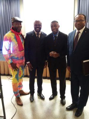 James Miba, Patrick Mbiye, Andy Kalala & Noel Tshiani Muadiamvita