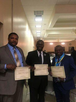Jean-Paul Kabeya, Christian Kanonga & Fabien Kusuanika