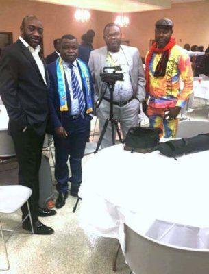 Papa, Fabien Kusuanika, Hibraim Kalenga & James Miba