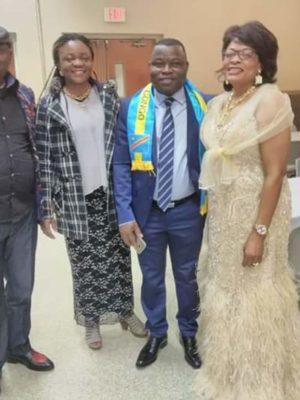 Papy Bunkete, Solange Kayembe, Fabien Kusuanika & Liliane Tshibangu