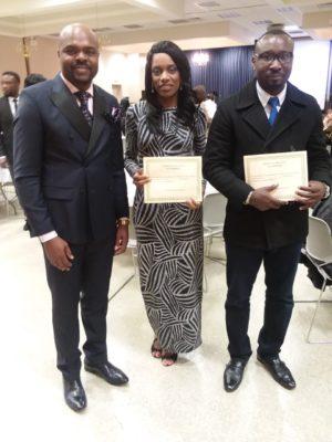 Patrick Mbiye, Evelyn Kessler & Dominique Diomi