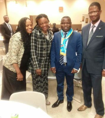 Rachel Basenga, Solange Kayembe, Fabien Kusuanika & Chris Kayembe
